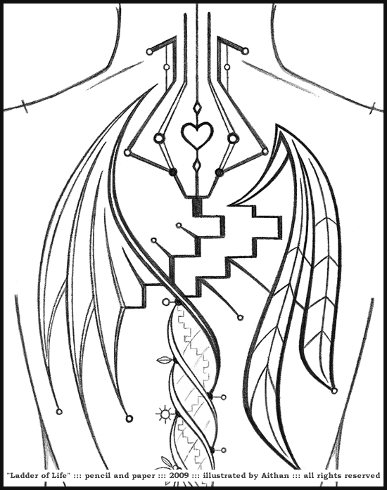InSpir(INK)ed - Ladder of Life